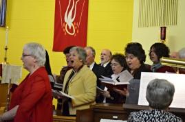 Visiting Choir Members for Pastor Kate Costa's Ordination