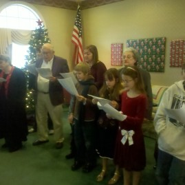 St. Luke's Carolers at the Amerisist House
