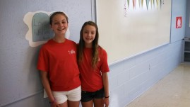 two of our great helpers