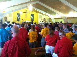 The Revival Worship begins